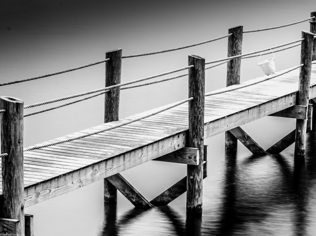 dock.blackandwhite